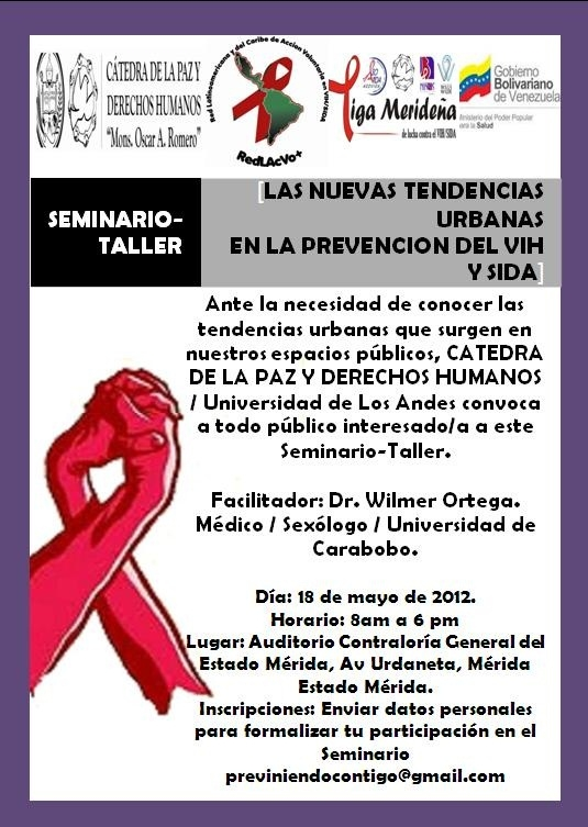 Seminario-Taller Las Nuevas Tendencias Urbanas en la Prevención del VIH SIDA